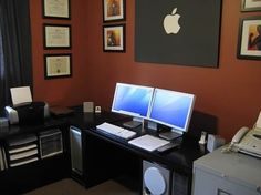 Home Office   Dual Monitor Is A Must, But Apple Not Neccessarily