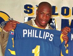 (AP Photo/James A. Finley) Letters From Prison show the articulate Lawrence Phillips.  What a tragic story this is.