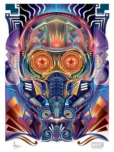 Dia De Los Muertos OFFICIAL MARVEL Vector on Behance by Orlando Arocena