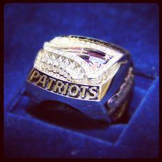 Patriots 2011 AFC Championship Ring #MHK