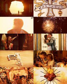Leonardo Dicaprio and Claire Danes in Romeo + Juliet