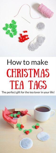 Felt Christmas Tea Tags