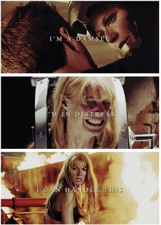This was one of my favourite aspects of Iron Man 3: Pepper Potts finally got to be badass!  Not only that, she saves him.  LOVE <3