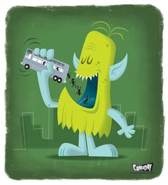 Monster Snack! by bob canada, via Flickr
