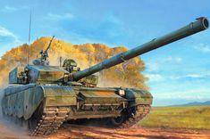 Tanque chino Type 99, el más moderno de su arsenal, de 54 t, una velocidad máxima de 80 Km/h, armado con una pieza de 125 mm y protegido por blindaje compuesto equivalente a unos 1.000 mm de acero. Cortesía de Hobby Boss http://www.elgrancapitan.org/foro/viewtopic.php?f=68&t=18543&p=880648#p879884