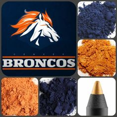 NFL Football and Younique eye pigments