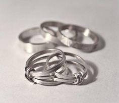 Amy WIlkinson  Silver Rings