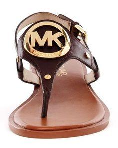 MICHAEL Michael Kors  Aubrey Logo Thong Sandal - Michael Kors  | LBV ♥✤