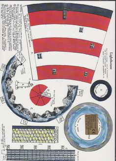 Cut Out of Lighthouse English Village Designs   eBay