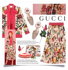 """Presenting the Gucci Garden Exclusive Collection: Contest Entry"" by lenochca ❤ liked on Polyvore featuring Gucci and gucci"