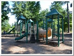 The Playground at Heritage Park in Simpsonville