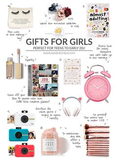 Gift Guide: The Best Gifts for Teen Girls Guia de presentes: os melhores presentes para meninas adolescentes – Cool Gifts For Teens, Christmas Gifts For Teen Girls, Birthday Gifts For Teens, Holiday Gifts, Best Gifts For Teens, Christmas List Ideas, Wish List For Teens, Christmas Gifts For 16 Year Olds, Gifts For Tweens