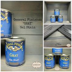 Gray Gel Stain! | Design Ideas For Finishing Furniture, Cabinets & Floors