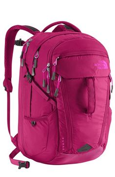 The North Face 'Surge' Backpack (Girls)