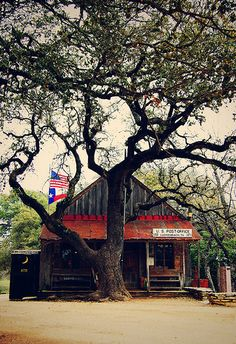 Luchenbach, Texas... made famous by Willie and Waylon