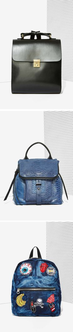Now trending... chic backpacks for fall from @nastygal!