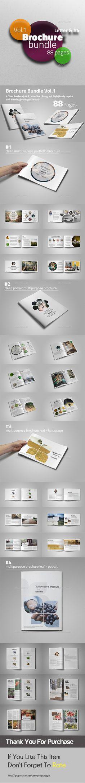 Brochure Bundle Templates InDesign INDD #design Download: http://graphicriver.net/item/brochure-bundle-vol1/13712235?ref=ksioks