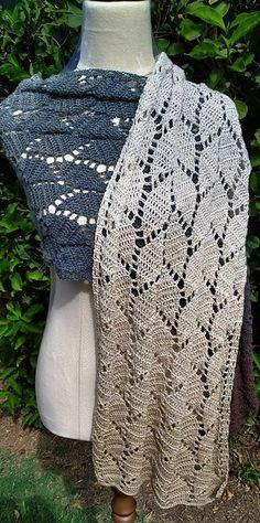 Ravelry: Autumn Leaves Wrap pattern by Kym Clark Crochet Shawl, Crochet Doilies, Wrap Pattern, Crochet Fashion, Autumn Leaves, Ravelry, Needlework, Stitch, Elegant