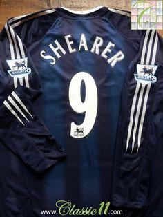 661e0b0a1e5 2004 05 Newcastle United Away Premier League Football Shirt Shearer  9 (L)