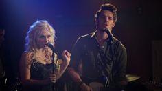Gunnar and Scarlett on stage - Nashville