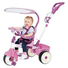 Little Tikes 4-In-1 Trike Basic Edition - Pink