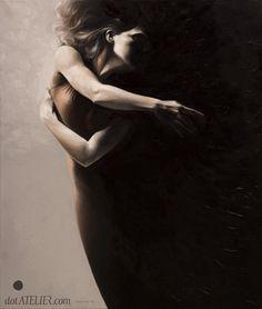 """Awakening"" Oil on canvas by Doris Tesarek Opl / Edward Wolf"