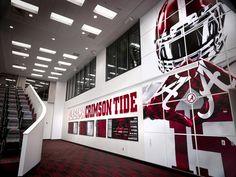 Alabama Football Facilities