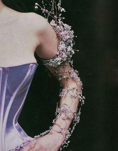 theunusualdressmaker:  Runway Details, Christian Lacroix Haute Couture 1998