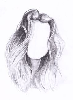 hair sketches drawing drawings sketch pencil inspiration draw face easy cartoon forward reference pretty paintings uploaded user fantasy