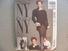 McCall's vintage sewing pattern 5047 NY Collection by byRickMarsh, $7.00