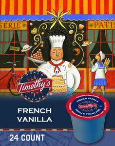 French Vanilla Coffee K-Cup® packs by Timothys - Keurig.ca