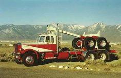 1955 Mack log truck