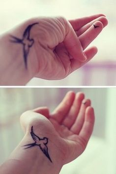 OMG I love this tattoo but I don't know if I would get it on my hand.. I just don't know but I love it so much!!