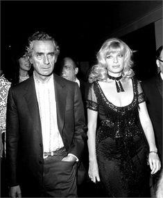 Monica Vitti con Michelangelo Antonioni