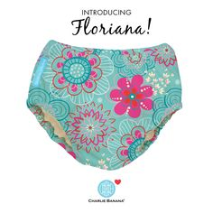 Summer is blooming with our new Floriana print!  #charliebanana