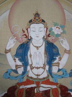 devoted to images of Buddhism. love the feelings of peace they evoke in me. Tibetan Buddhism, Buddhist Art, Vajrayana Buddhism, Buddhist Philosophy, Buddha Tattoos, Alphonse Mucha, Guanyin, Sacred Art, Gods And Goddesses