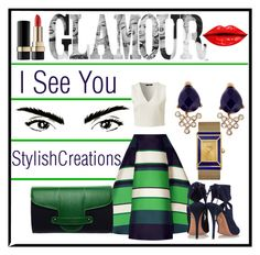Hello There by athomemommy on Polyvore featuring polyvore fashion style Lanvin Aquazzura Emeline Coates Accessorize Tory Burch Dolce&Gabbana clothing