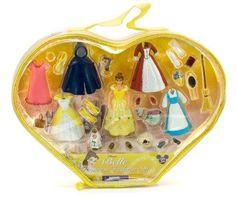 Belle Princess Fashion Set Figures (Disney Theme Parks Exclusive)