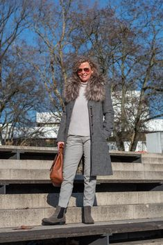 Oversized Mantel - wie trage ich das It-Piece des Winters? - women2style Oversized Mantel, Winter Jackets, Vest, Fall, Outfits, Fashion, Loose Pants, Short Jackets, Fashion Trends
