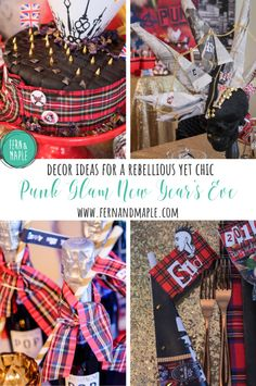 What better holiday to rock some rebellion then New Year's Eve? Get the details on how I set the edgy and dramatic scene for the new year- Perhaps you will get some inspiration to bring in 2020, Punk Glam style! #newyearseveparty #nyeparty #nye #partyideas #fernandmapleparties #fernandmaple #punkglamparty #party #holidayparty