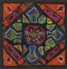 Second Grade: Ndebele designs