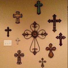 I have these kind of crosses through out my house.