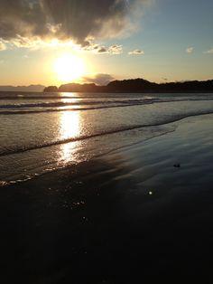 beautiful sunset @Yuigahama