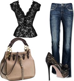 """""""Vintage outfit"""" by gracemoran on Polyvore"""