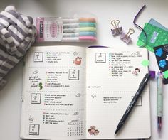 I am seriously loving my Bullet Journal and not missing any other planner…
