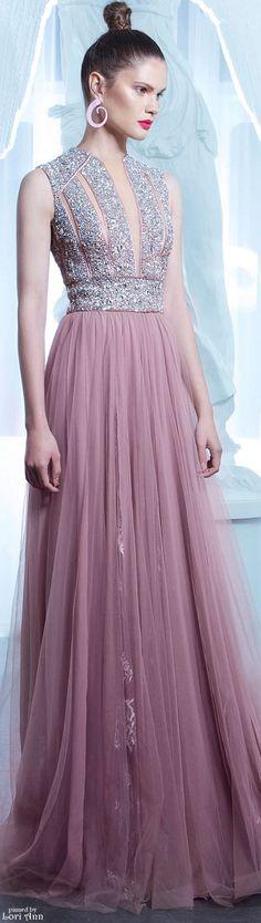 Nicolas Jebran Couture Fall 2015