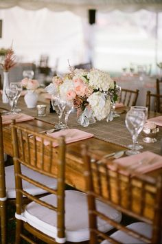 pink infused Maine wedding with a nod to rustic  Photography By / meredithperdue.com, Planning   Design By / maineseasonsevents.com, Floral Design By / florafaunaweddings.com