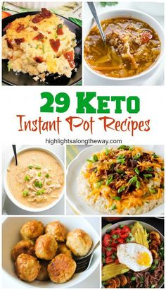Roundup of 29 Easy Keto Instant Pot Recipes Easy Keto Instant Pot Recipes. Roundup of 29 Easy Keto Instant Pot Recipes,Easy Keto Instant Pot Recipes. Roundup of 29 Easy Keto Instant Pot Recipes, Bariatric Recipes, Ketogenic Recipes, Low Carb Recipes, Healthy Recipes, Ketogenic Diet, Diet Recipes, Recipes Dinner, Bariatric Eating, Dessert Recipes