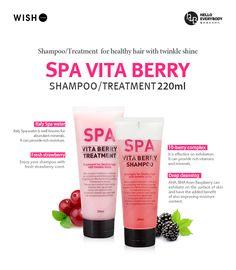 HELLO EVERYBODY | Spa Vita Berry Shampoo & Treatment