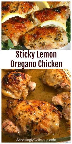 Oregano Chicken, Cooking Recipes, Healthy Recipes, Cleaning Recipes, Bread Recipes, Cooking Tips, Baked Chicken Recipes, Yum Yum Chicken, Food Dishes